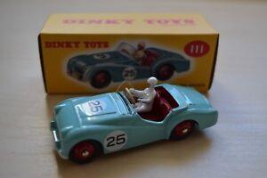 Atlas-Editions-DeAgostini-dinky-toys-triumph-tr2-sports-car-1-43-Scale-Model