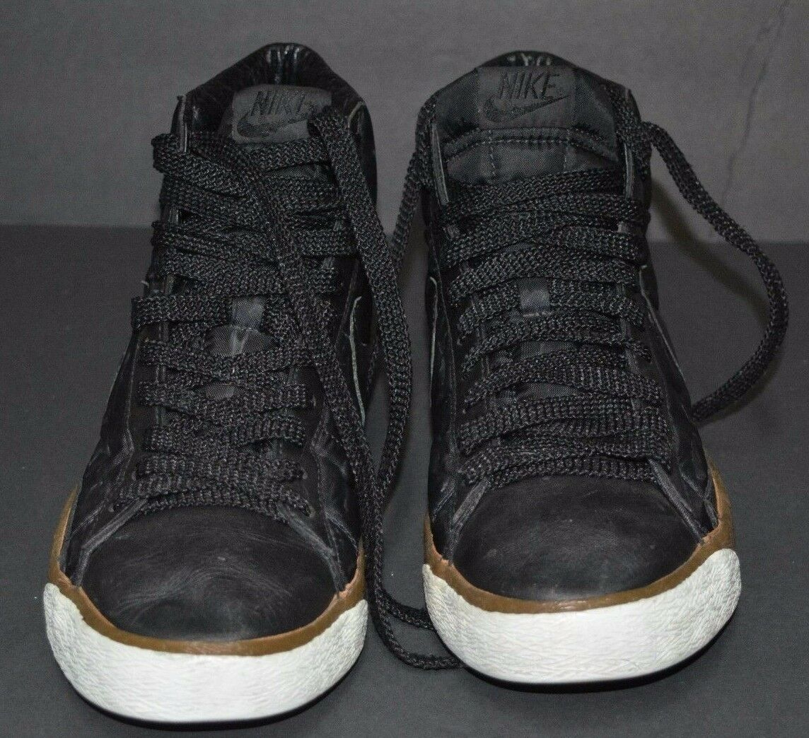 NIKE HIGTH TOP BLACK US MENS 9.5 PRE OWNED RARE STYLE Comfortable and good-looking