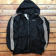 90s VTG ADIDAS Originals EQUIPMENT Windbreaker XL ANORAK Jacket EQT OG Hooded