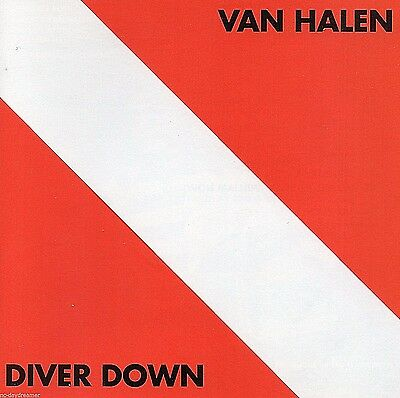 "VAN HALEN DIVER DOWN (1982 Warner/Remaster) ""Little Guitars"",""Oh Pretty Woman"""