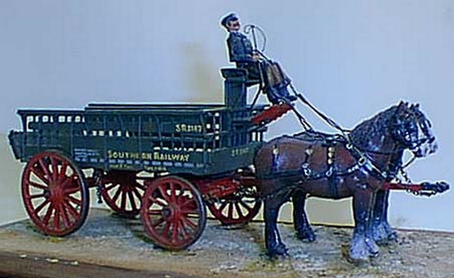 LBSC SR 5ton 2 Horse Drawn Wagon O Scale 1 43 UNPAINTED Kit M1 Langley Models