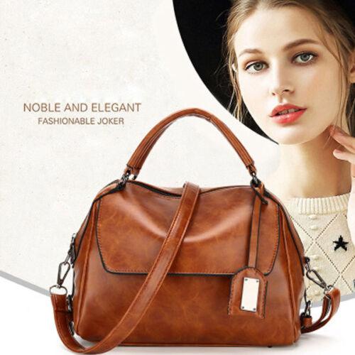 New Fashion Women/'s Sac à main en cuir Sac Messenger Mesdames Street Bandoulière