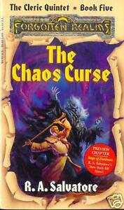 D&D ROMAN FORGOTTEN REALMS THE CHAOS CURSE