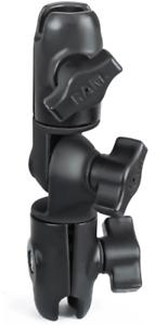 """RAP-B-201U Ram Mounts Composite Double Socket Arm for 1/"""" Ball Bases AUTH DEALER"""