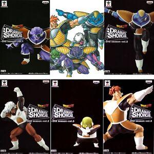 DORAGON BALL Z DRAMATIC SHOWCASE 2nd Complete set The Ginyu Force
