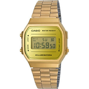 Vintage Casio A168WEGM-9D Rose Gold Mix Digital Watch NEW A168 ... 04f4ce6941