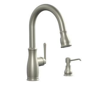 Glacier Bay Kagan Single Handle Pull Down Sprayer Kitchen Faucet 696227209168 Ebay