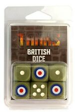 Gale Force Nine BNIB TANKS British Dice Set (6 Dice) GFNTANKS14
