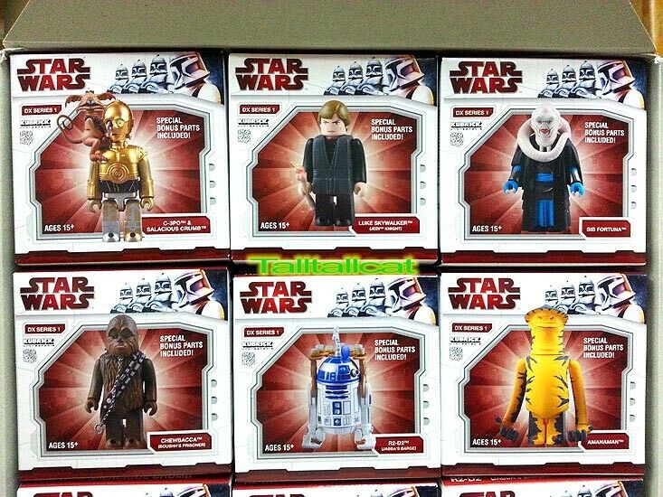 Medicom giocattolo estrella guerras Kubrick DX Series 1 with Jabba The Hutt [ Set of 7 ]