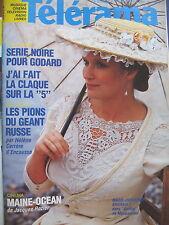 1092 MARIE-CHRISTINE BARRAULT PATRICIA HIGHSMITH J. ROZIER GODARD TELERAMA 1986