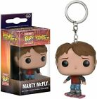 Back to The Future Marty on Hoverboard Pocket Pop Keychain Keyring Bag Clip