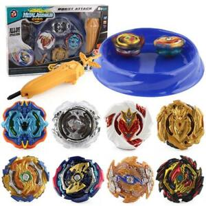 2018 Beyblade Burst with Launcher Set Bey Blade Metal Top Kid Toy Gift Christmas