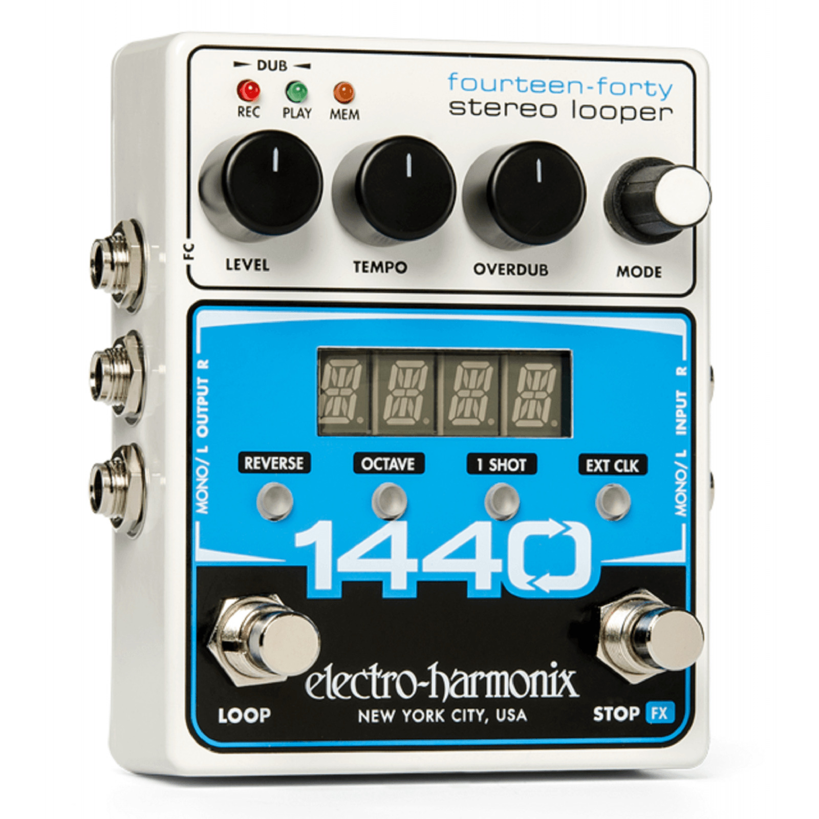 Electro-Harmonix 1440 Fourteen-Fourty Stereo Looper Guitar Effects Pedal