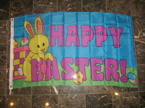 3x5 Happy Easter Flag 3/'x5/' house banner Premium FADE Restistant