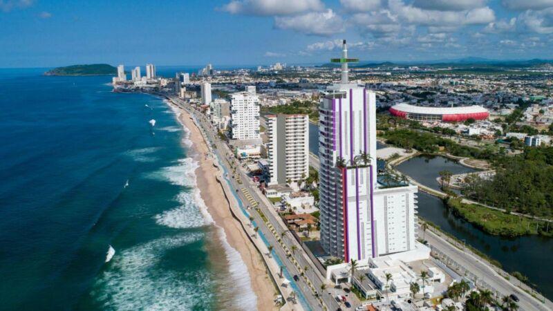 Depa en Venta Malecon Mazatlan Playa Sky Luxury Opalo