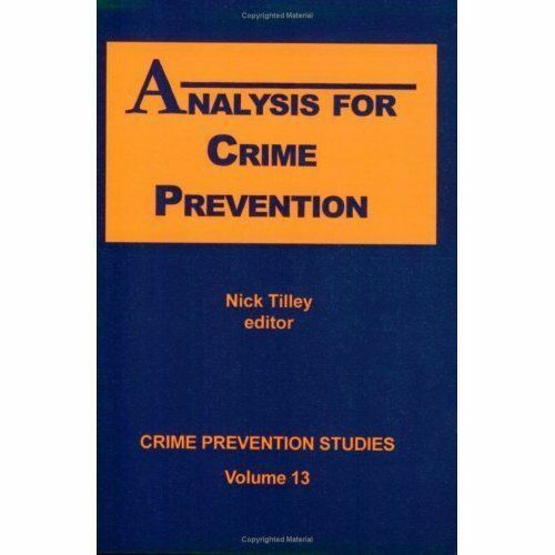 1 of 1 - Analysis for Crime Prevention (Crime prevention studies), , Used; Good Book