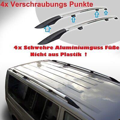 Dachreling passend f/ür Opel Vivaro L1-H1 ab Baujahr 2001-2014 Schwarz mit T/ÜV und ABE