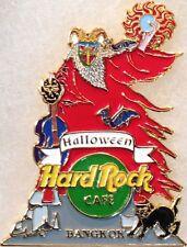 Hard Rock Cafe BANGKOK 2003 HALLOWEEN PIN Demon w/Guitar Cat HRC Catalog #20293