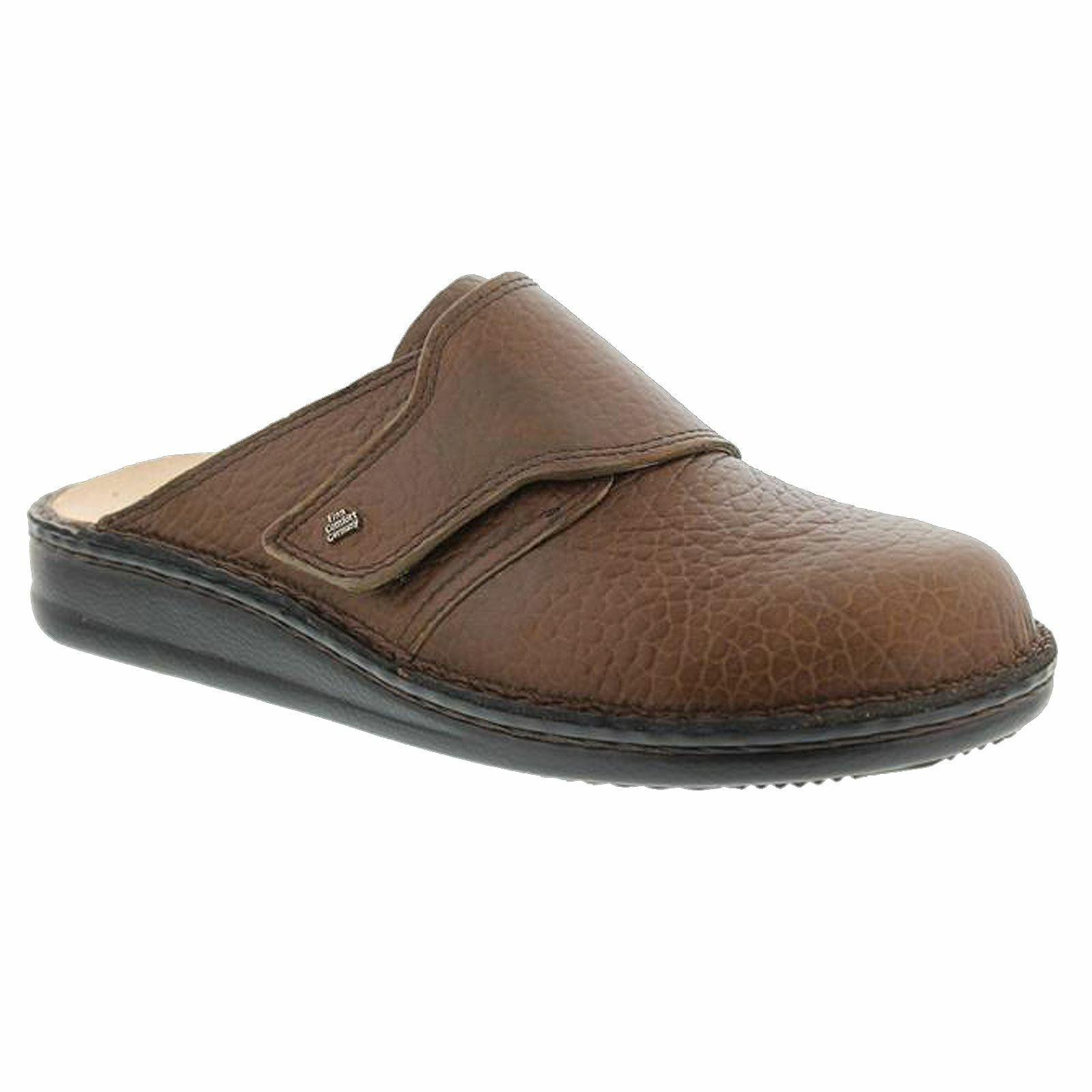 Finn Comfort Mens Amalfi Brown Leather Sandals
