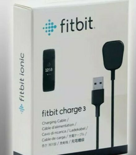 Details about  /Fitbit Charging Cable//Lead for Fitbit CHARGE 3 Fitness Tracker Genuine