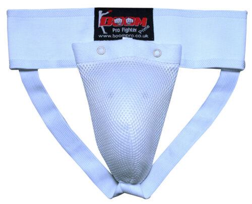 BOOM Mens Groin Guard Boxing MMA Martial Arts Abdo Cricket Box Cup Protector