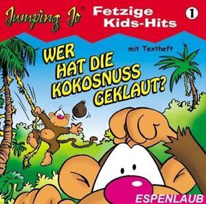 CD-Wer-hat-die-Kokosnuss-geklaut-Fetzige-Kids-Hits-034-1-034-mit-Jumping-Jo-neu