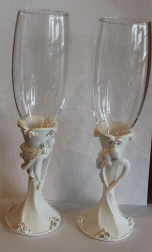 Sektgläser-Set 24 cm  Hochzeits-Sektgläser-Set ca 24 cm,