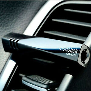 TOP-Smell-Car-Air-Conditioning-Vent-Clip-Perfume-Air-Freshener-Fragrance-Black