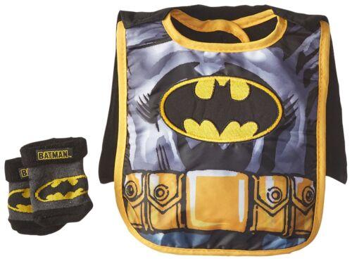 Baby-Boys Infant Batman Caped Bib and Bootie Set