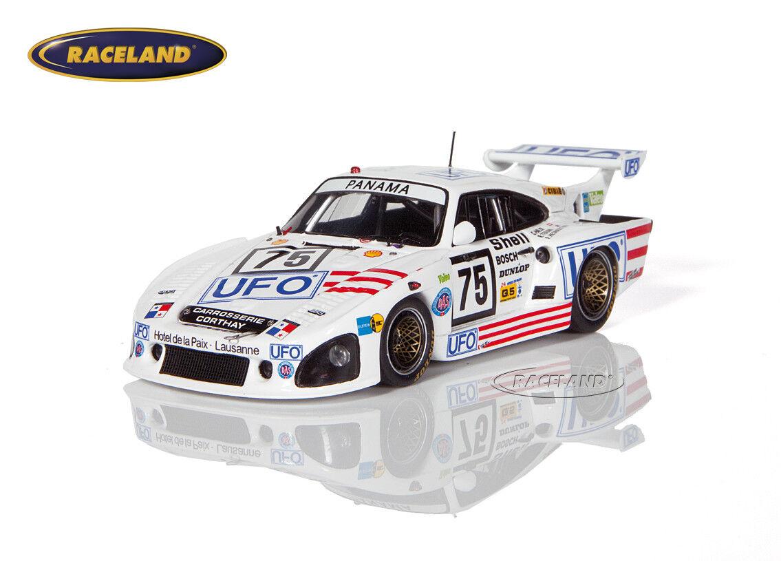 Porsche 935 OVNI Claude Haldi Le Mans 1982 Haldi Teran Hesnault Spark 1 43, s4429
