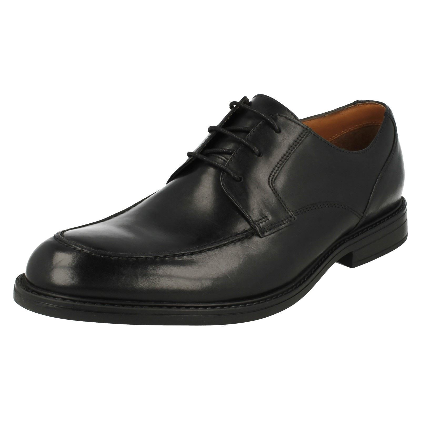 Clarks  Uomo Formal Beckfield Lace Up Schuhes Beckfield Formal Apron 5de2b6