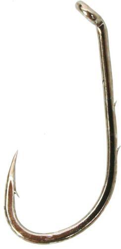 Gamakatsu Baitholder Hook #10 Needle Point Shank Ringed Eye Bronze 10//Pack 05105