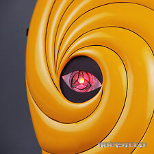 NARUTO Akatsuki Ninja Tobi Obito Madara Uchiha Cosplay Helmet DX Version Mask