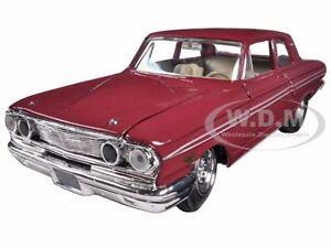 1964 ford thunderbolt burgundy 1 24 diecast car model by for Ford motor credit franklin tn