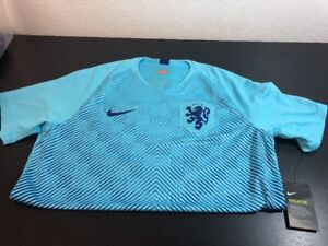 41685d867d27a1 Nike Breathe Netherlands Away Stadium Men s Short-Sleeve Jersey Sz L ...