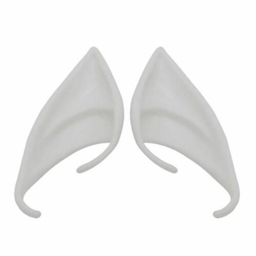 1 Pair Latex Elf Ears Cosplay Mask Halloween Christmas Masquerade Party Props
