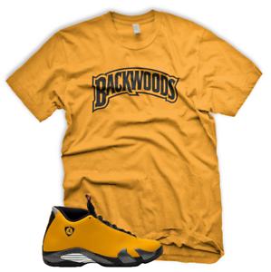 Yellow Backwoods T Shirt For Jordan 14 Xiv Yellow Ferrari Carmelo 13 Ebay