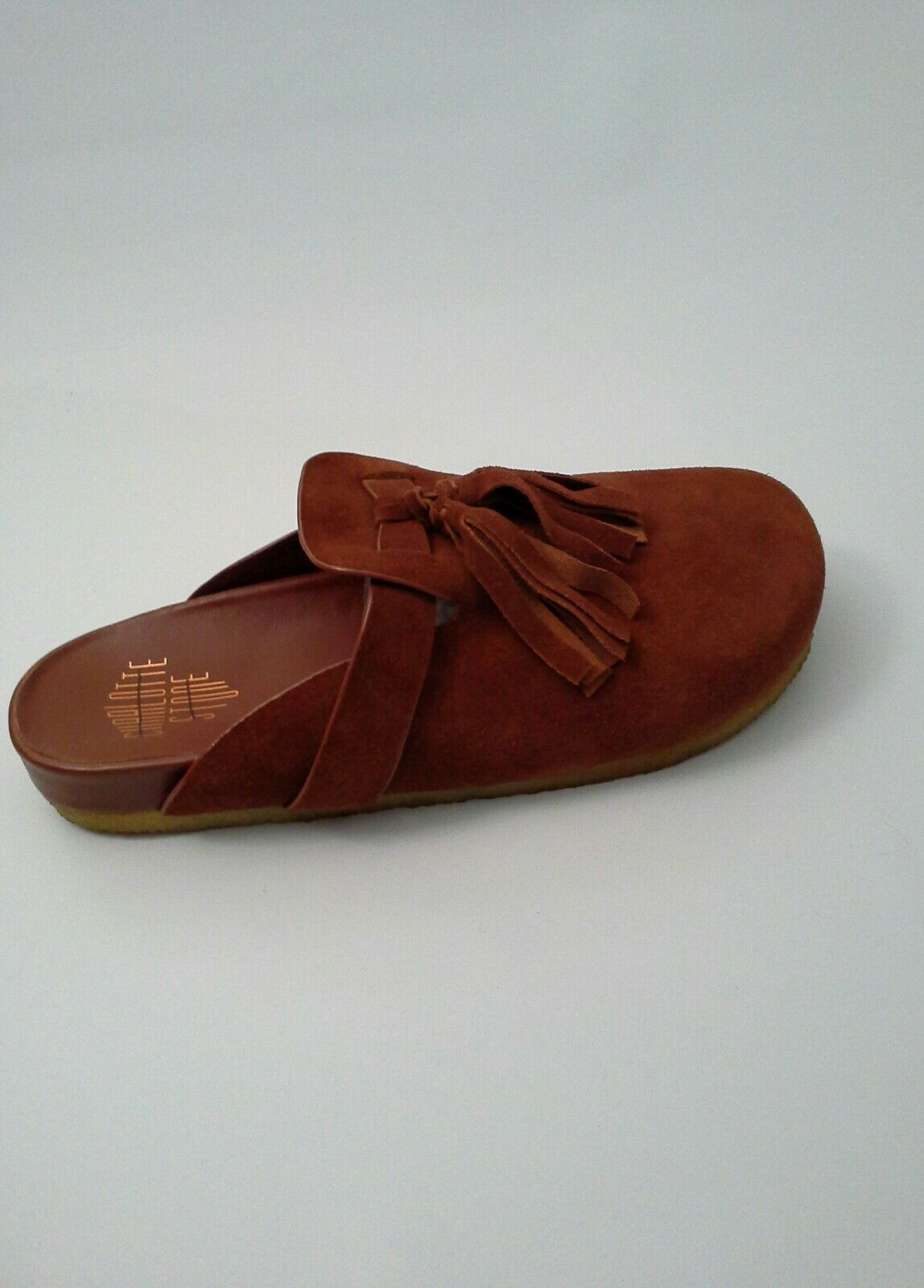 Anthropologie Nellie Mules by Charlotte Stone Taglia 10 10 10 Rust Suede Slip On   265 7192e7