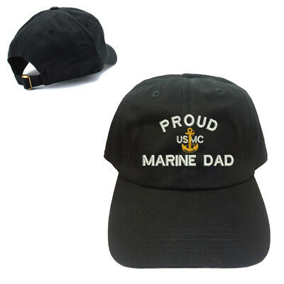 UNSTRUCTURED 100/% COTTON CAP HAT PROUD US COAST GUARD DAD DADDY