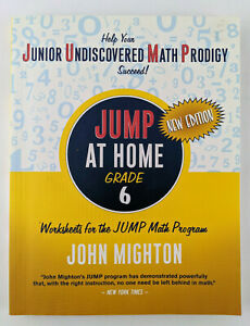 JUMP at Home Grade 6: Worksheets for the JUMP Math Program Home School Work