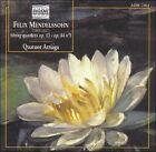 Mendelssohn: String Quartets, Opp. 13 & 44/1 (CD, Jan-2003, Pavane)