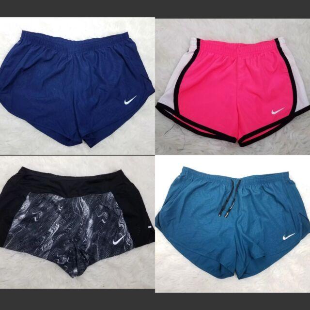 NWT Nike Dri-Fit Infants Girls Dry Tempo Running Shorts Size 6 Black 3MB166