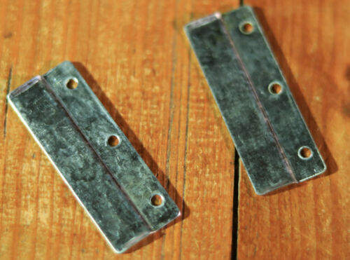 2x Metall Fluglochschieber für Holzbeute Zander Bienen Zubehöhr Byander