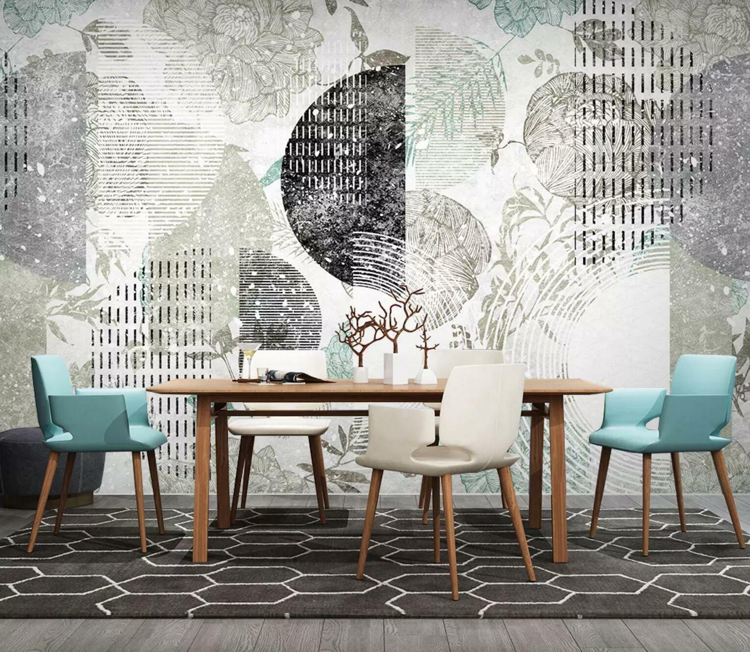3D Fashion Floral 666 Wall Paper Exclusive MXY Wallpaper Mural Decal Indoor wall