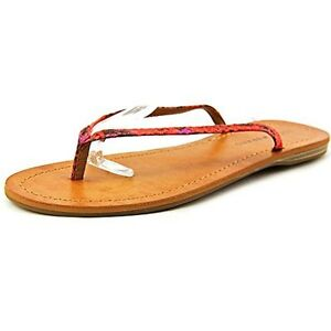 1b13c325289316 Image is loading Lucky-Brand-Amberr-Canvas-Thong-Sandal