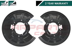 BMW-E46-330i-330d-REAR-DISC-BRAKE-BACK-PLATE-SHIELD-PAIR-34211166108-34211166107