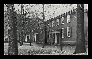 DR-JIM-STAMPS-US-QUAKER-MEETING-HOUSE-PHILADELPHIA-PENNSYLVANIA-POSTCARD