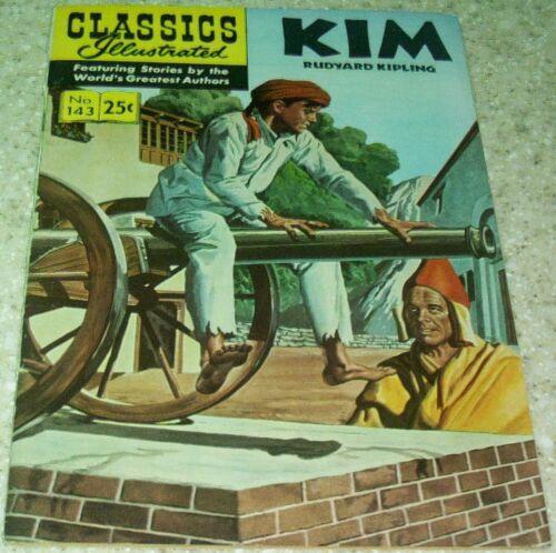 40/% off Guide! Classics Illustrated 143: Kim  HRN169, NM- 9.2 1969
