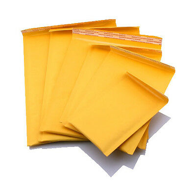 100 pk 10.5X15 #5 Bubble Line Self Seal Mailer Envelope Shipping Cushion Protect