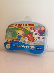 +++ VTECH VSMILE BABY UN JOUR À LA FERME NEUF +++ TqMmDBKx-08122031-673768166